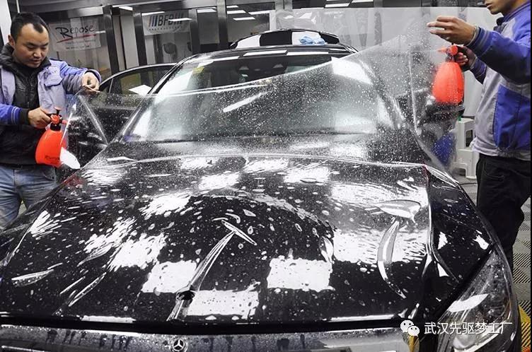 汽车贴膜 奔驰S级贴XPEL漆面透明保护膜