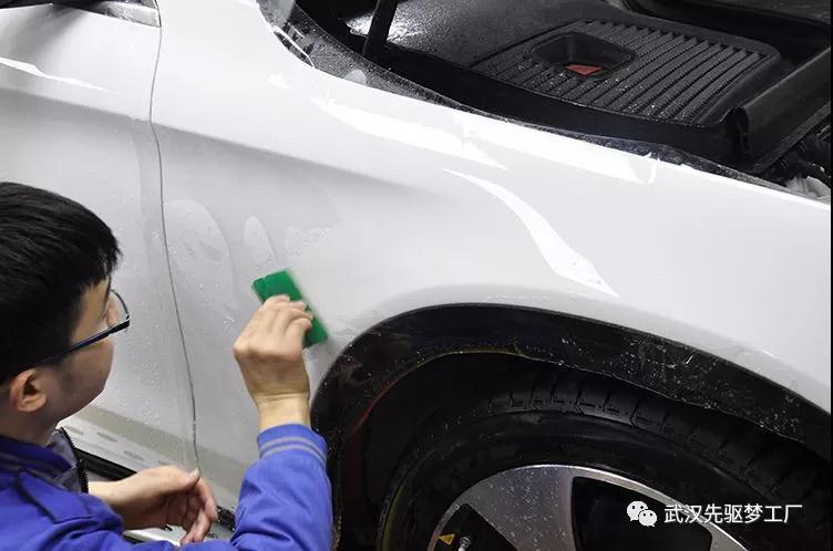 汽车贴膜 奔驰GLC贴XPEL隐形车衣