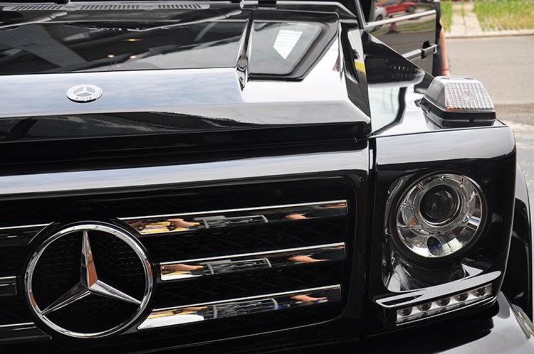 汽车贴膜 奔驰G350d贴隐形车衣
