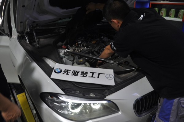 武汉宝马改装 宝马5系保养 机油格、原厂机油、动力外挂