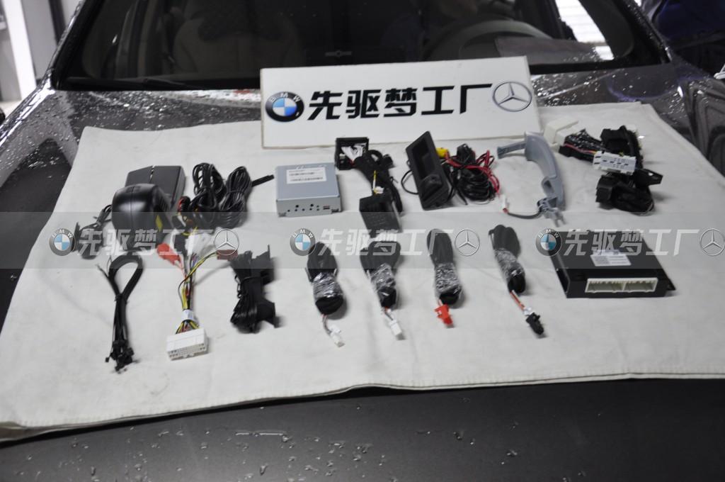 武汉改装 宝马3系升级倒车影像+单门舒适进入