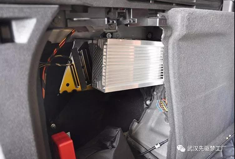 武汉宝马改装 宝马X5升级哈曼卡顿音响16件套