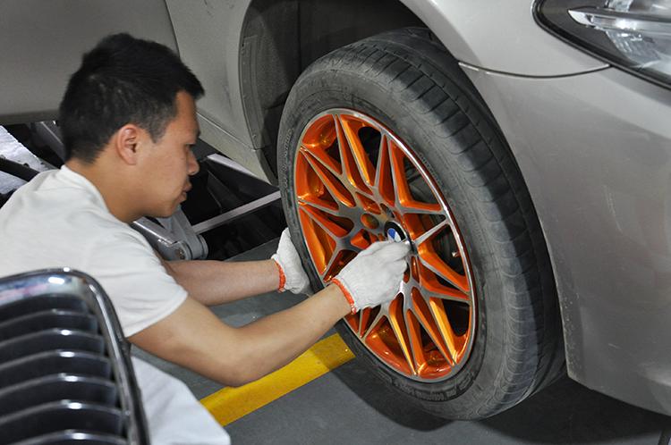 武汉宝马改装 宝马5系升级BO中置、舒适进入、电尾门、氛围灯、轮毂