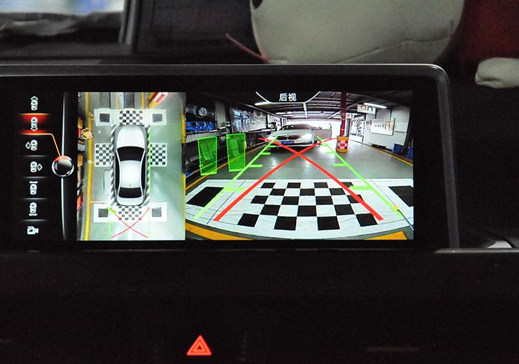 武汉宝马改装 宝马X1 升级360°全景