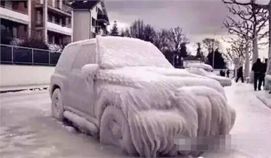 宝马新技术:冬季汽车可自我除雪!